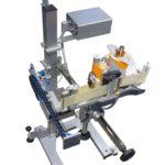 Etichettatrice automatica serie LABELX JR con applicatore pneumatico per scatole