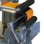 Dispositivo rotazione prodotti motorizzato