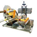 Etichettatrice semi-automatica per applicazione su tubi vuoti per cosmetici in versione 250 mm