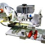 Etichettatrice semi-automatica con applicatore pneumatico per applicazione su prodotti irregolari