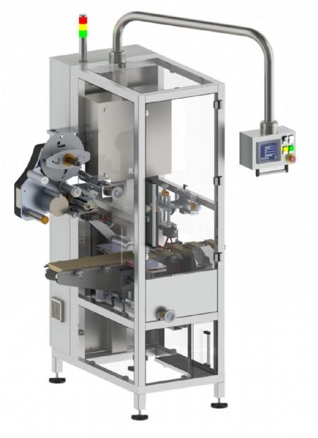 Sistema di etichettatura automatica per applicazione bollino farmaceutico