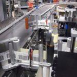 Doppia etichettatrice automatica LABELX 140 ES completa di unità di stampa TTR in versione TWIN con funzione NO-STOP