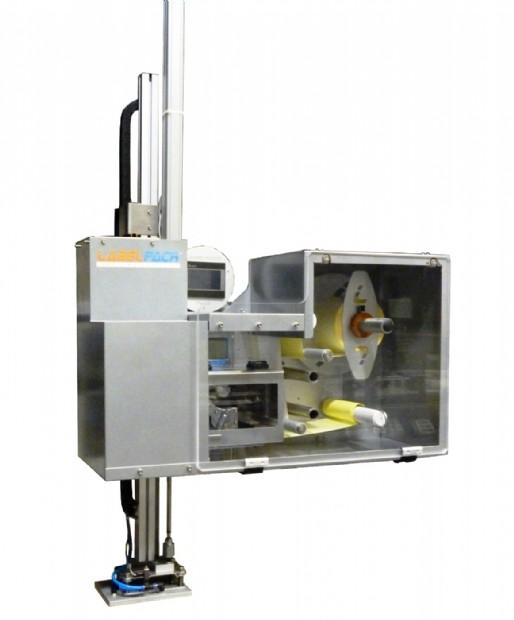 Sistema stampa & applica serie PandA versione CUBE con protezioni integrali