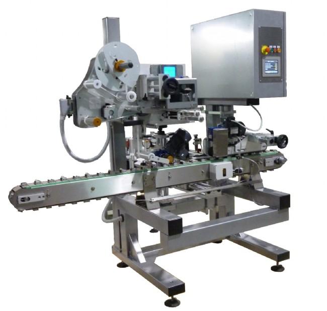 Sistema di etichettatura automatico per flaconcini e fialoidi cilindrici di piccolo diametro