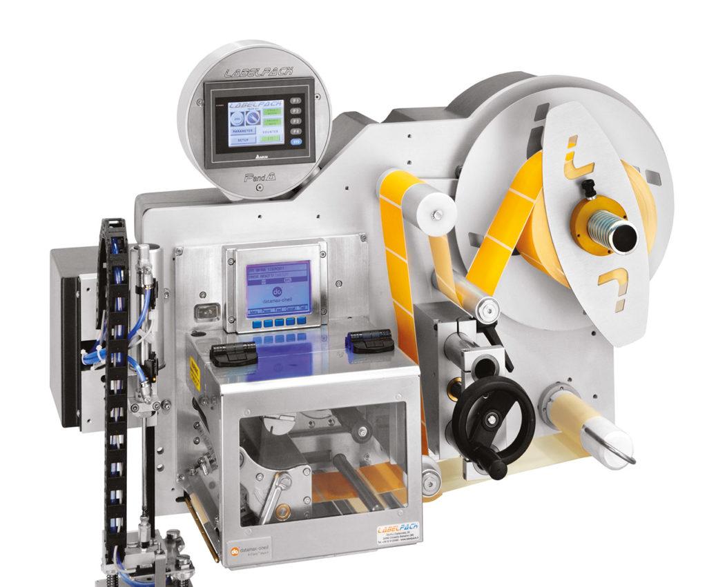 Sistema stampa e applica ad alte prestazione serie PandA